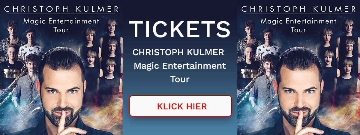 Christoph Kulmer Magic Entertainment Tour 2019
